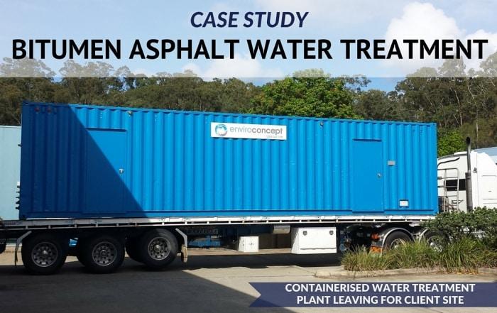 Bitumen Asphalt Water Treatment