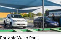 Portable Wash Pads