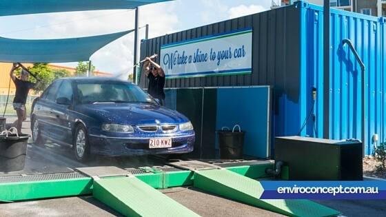 Car Wash Water Recycling