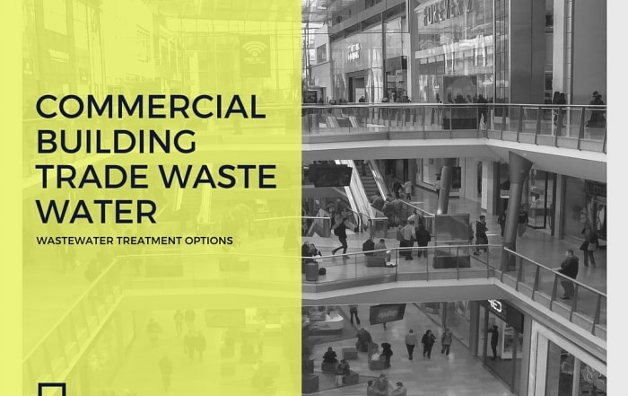 Commercial Building Trade Waste Water